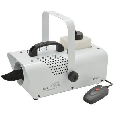 Mini Snow Machine with 1 L Tank - White