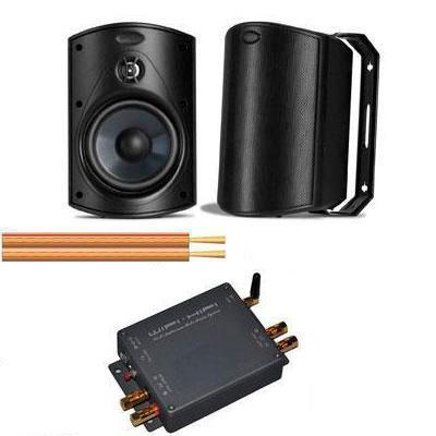 POLK Outdoor Speakers amplifier and cable kit