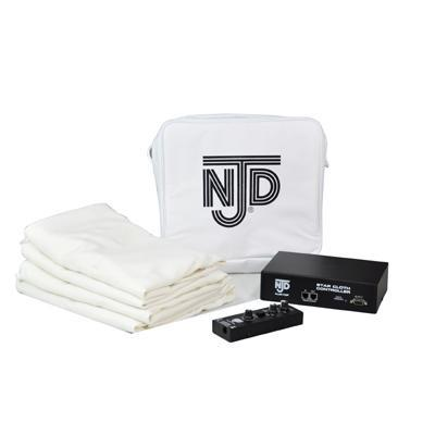 NJD White Deck Mounting Professional Star Cloth Kit (2.1 x 1.2 m)