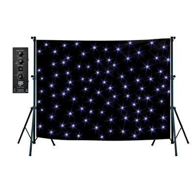 NJD Star Cloth 3M x 3M with 288 White LEDs