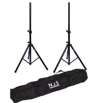 NJS Economy Pair of Speaker Stands (35mm) with Bag