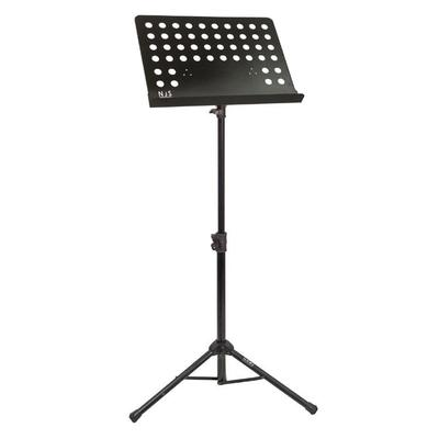 Orchesteral Style Perforated Platter Music Stand