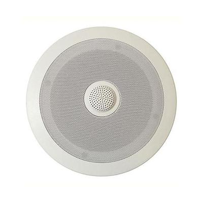Round Ceiling Speakers With Directable Tweeter - Pair
