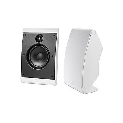 Polk Audio OWM3 Multi-Application Ultra Compact Speakers White - Pair