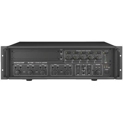 PA-1240 5-Zone Mono Mixing PA Power Amplifier 1 Channel x 240WRMS
