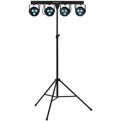 IMG PARL-45SET LED PAR Bar Set DMX with Footswitch