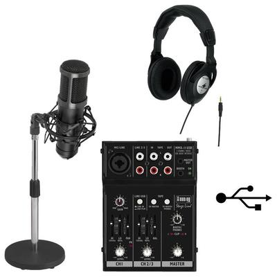 IMG Studio Podcast Recording Kit