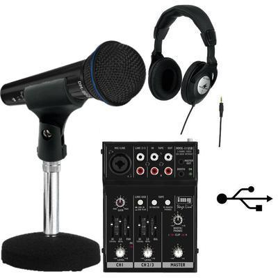 IMG Stageline Entry Level Podcast Recording Kit