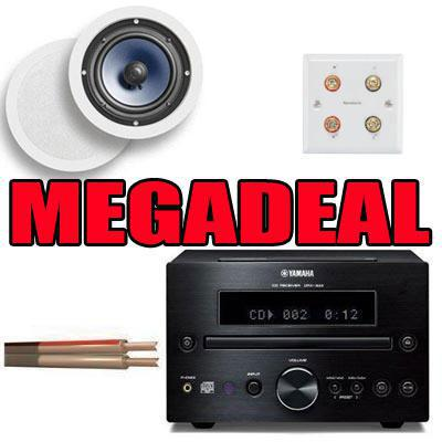 Yamaha CRX-332 ATON A60C Ceiling Speakers Cable & Wall Plate Megadeal