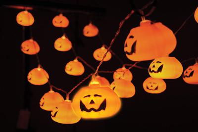 Halloween Outdoor/Indoor Pumpkin Lights 3.6M