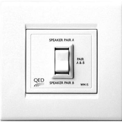 QED Two-Way Speaker Switch (Parallel Switching)