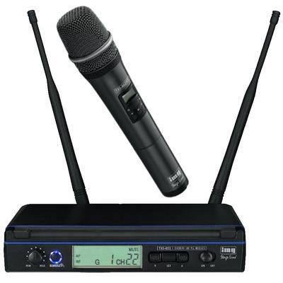 IMG Broadcast Quality Single Channel Wireless Hand Held Microphone