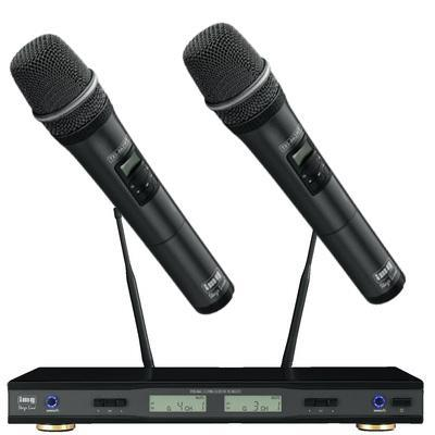 IMG Broadcast Quality Dual Channel Wireless Hand Held Microphone
