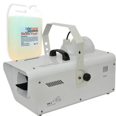 Professional Artificial Snow Effect Machine MEGADEAL 5 Litres Of Snow Fluid Included