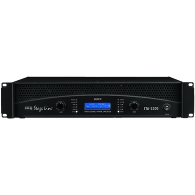 STA-2200 Professional Stereo PA Amplifier 4000W Max