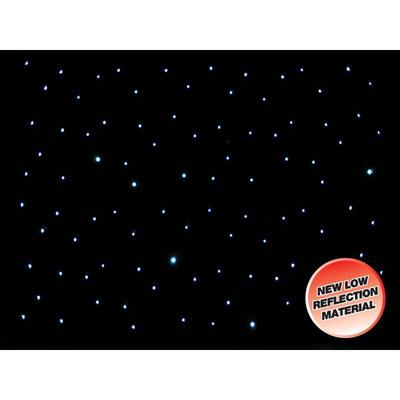 LEDJ 6M x 3M Star Cloth with 200 White LEDs