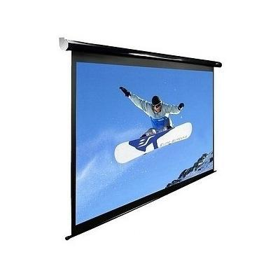 "Elite Spectrum 100H 100"" White Electronic Projection Screen"