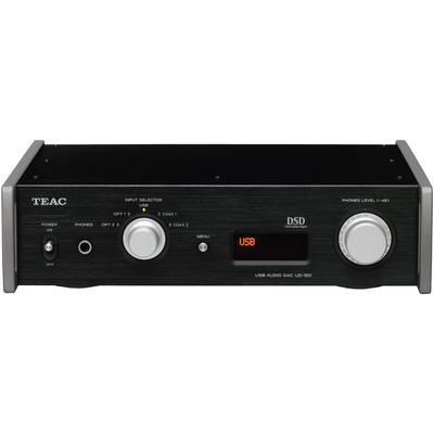 Teac UD-501 Front View - Black