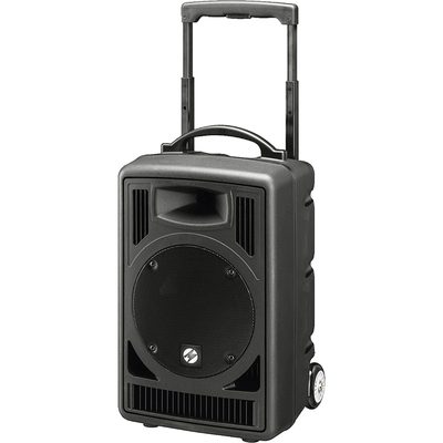 TXA-822CD 50W Wireless Portable PA System with Dual Receiver & CD Player