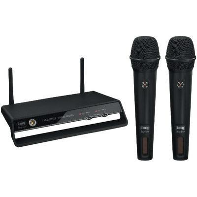 IMG Stageline Digital 2-Channel Wireless Handheld Microphones