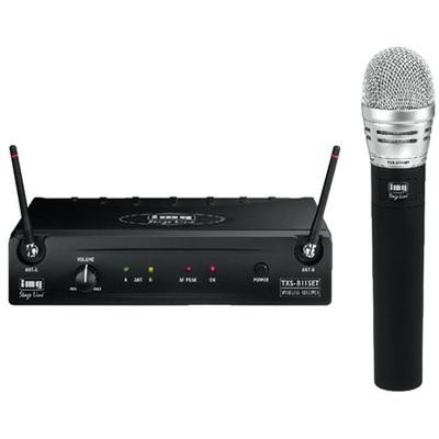 TXS-811SET Multifrequency Microphone System,  With UHF PLL Technology