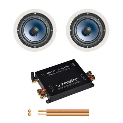 Vast Bluetooth Amplifier 2 x 45W With Pair Of Polk Audio RC60i