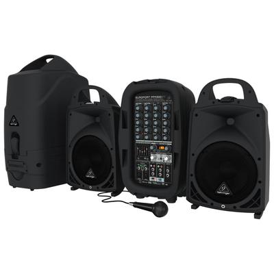 Behringer PPA500BT Europort Portable PA System 300W