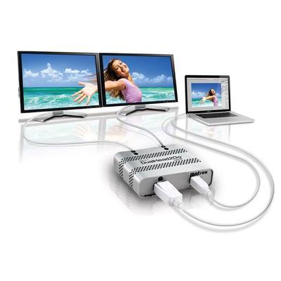 Matrox DualHead2Go Digital Thunderbolt 2x DVI D Mac