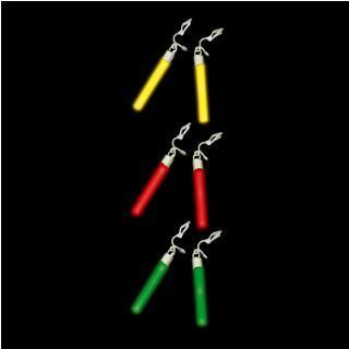 Glow Earrings - Various Colours