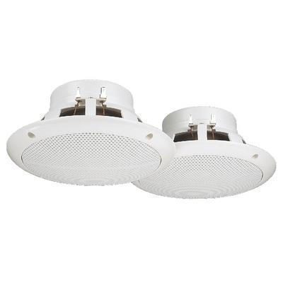 Pair Of Humidity-Proof 4ohm 50W Flush-Mount Ceiling Speakers