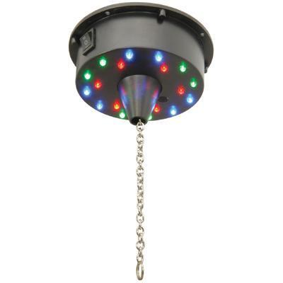 QTX Battery Operated Mirror Ball Motor with LED Lights up to 3KG