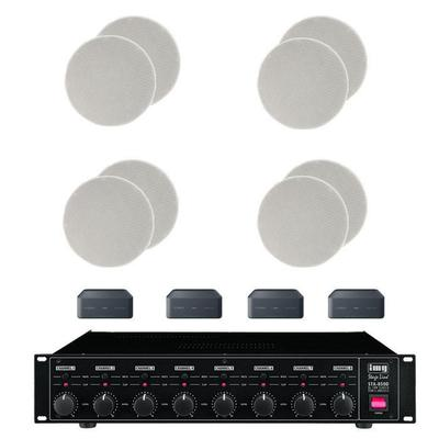 MusicCast Multi Room System 8 x Ceiling Speakers, 1 x STA-850D Amplifier