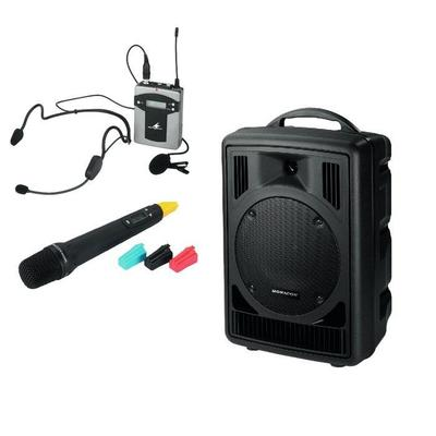 TXA-820 50W Portable PA System with Handheld or Tie Clip/Headset Microphones <b>CYBERMARKET MEGADEAL!</B>