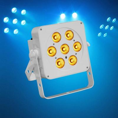 Slimline RGBA 7 x 5W Quad Colour LEDs
