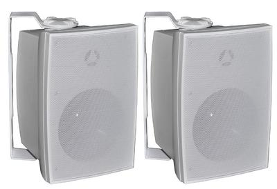 Vast Wall Mount Bluetooth Speakers 2 X 45w White