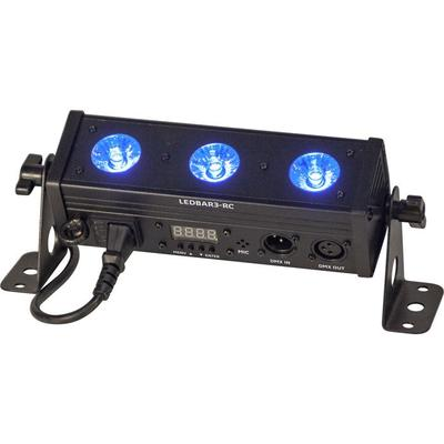 Ibiza DMX-Controlled RGBW LED Bar With 3 LEDs