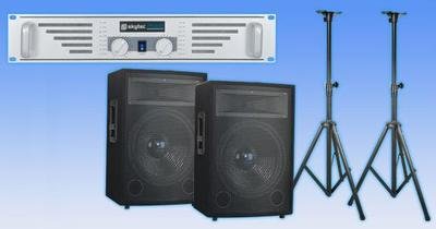 PA SYSTEM ideal for Bands and DJ's
