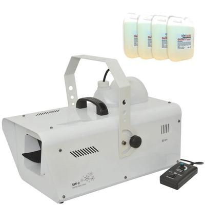 Professional Artificial Snow Effect Machine (20 Litres Snow Fluid Included)