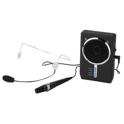 Portable Digital Voice Amplifier With Headset Mic & Miniature Handheld Mic