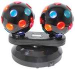 Dual Rotating Disco Balls. Watch Video!