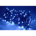 Heavy Duty/Outdoor LED String Lights with Controller - 8 Patterns - Blue