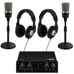 IMG Ultimate 2 Microphone Podcast Kit USB Powered