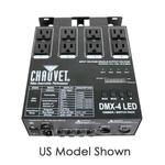 Chauvet DMX-4 LED 4-Channel Dimmer/Relay Pack