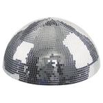 Half Mirror Ball 30CM - With Built in Motor