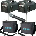 MiPro MA-101 Twin PA System Portable