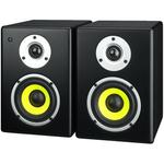 Pair of compact active speakers, 2 x 40WMAX, 2 x 20WRMS