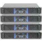Stereo Power Amplifiers 240W, 300W & 500W