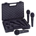 Pack of 3 Dynamic Microphone