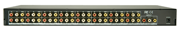 AUDIO/VIDEO DISTRIBUTION AMPLIFIER